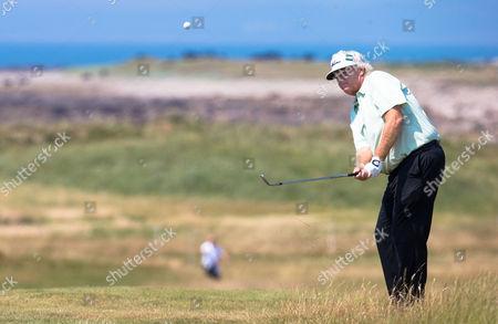 Editorial image of Rolex Pro-Am Golf, Royal Porthcawl Golf Club, Wales, Britain 25 July 2014