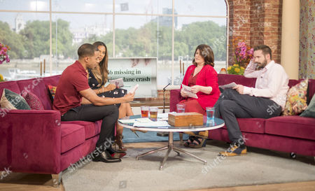 Editorial photo of 'This Morning' TV Programme, London, Britain - 25 Jul 2014