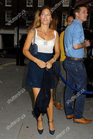 Editorial photo of Celebrities at the Chiltern Firehouse, London, Britain - 25 Jul 2014