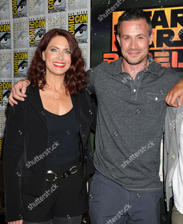 Editorial photo of Celebrities at Comic-Con, San Diego, America - 25 Jul 2014