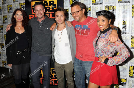 Editorial picture of Celebrities at Comic-Con, San Diego, America - 25 Jul 2014