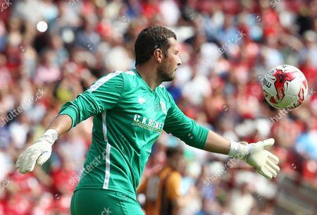 Barnsley goalkeeper Ross Turnbull
