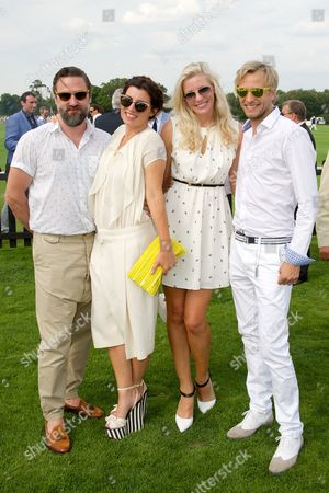 Stock Picture of Kenneth Drewery, Grace Woodward, Rick Parfitt Jnr and Rachel Gretton and Rick Parfitt Jnr