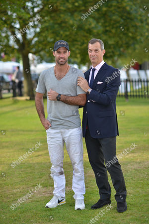 Facundo Pieres and Philippe Metzger, (CEO of Piaget)
