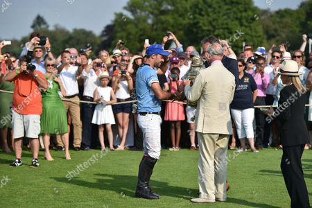 Facundo Pieres and Prince Charles