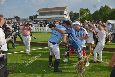 Facundo Pieres celebrates