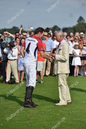 Luke Tomlinson and Prince Charles