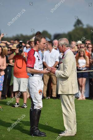 Mark Tomlinson and Prince Charles