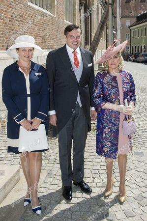 Princess Clotilde of Orleans, Prince Charles Philippe of Orleans and Princess Beatrice of Orleans