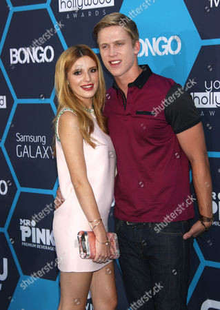 Stock Photo of Bella Thorne and Tristan Klier