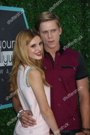 Stock Image of Bella Thorne and Tristan Klier