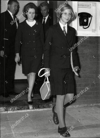 Princess Irina Of Rumania Arriving In London.