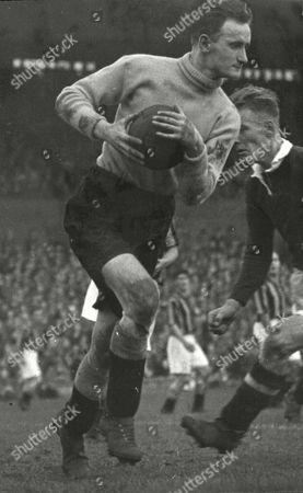 John Niven Scottish Goalkeeper In Play For East Fife Fc In 1948.. (died 2011).