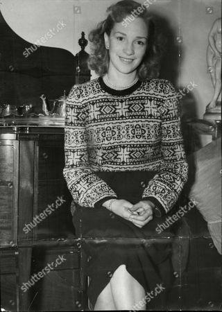Actress Sheila Mathews.