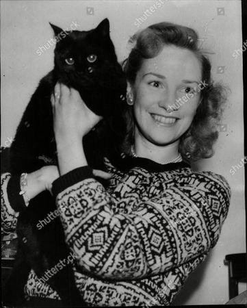 Editorial photo of Actress Sheila Mathews.