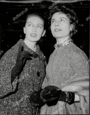 Janette Scott Actress (left) And Yvonne Mitchell.