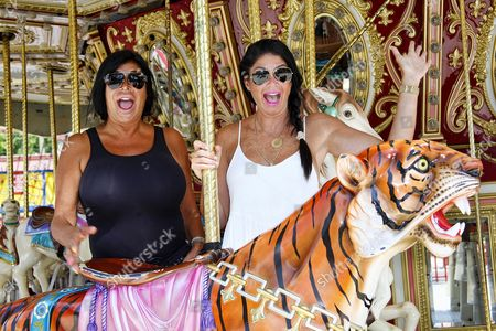 Stock Image of Angela Big Ang Raiola and Alicia DiMichele Garofalo
