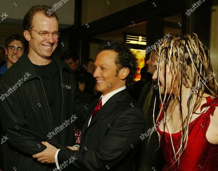 Stock Image of Michael O'Keefe, Rob Schneider and Sam Doumit
