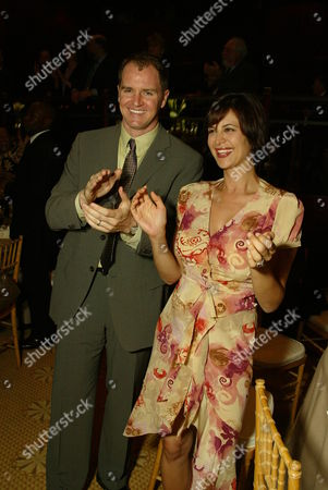Stock Photo of Adam Beason and Catherine Bell
