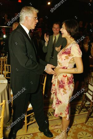 Ted Danson and Catherine Bell
