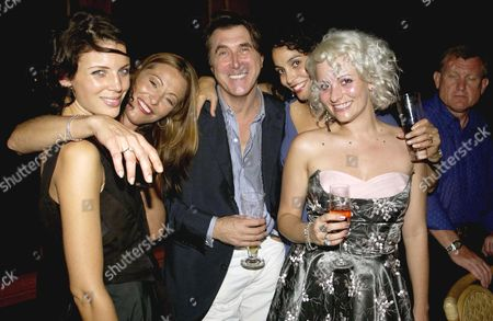 LIBERTY ROSS WITH AMANDA DONOHOE, BRYAN FERRY, JEANETTE CALIVA AND LYNDELL MANSFIELD