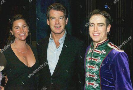 Keely Shaye Smith, Pierce Brosnan and Nutcracker Prince Sascha Radetsky