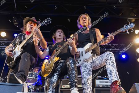 Slade - Mal McNulty, Dave Hill and John Berry