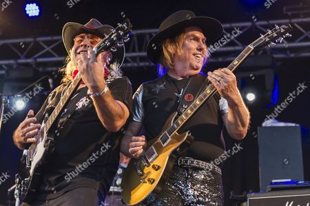 Editorial image of Slade in concert at Folestival, Longueville, Belgium - 26 Jul 2014
