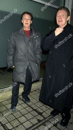 Sir Paul McCartney with brother Mike
