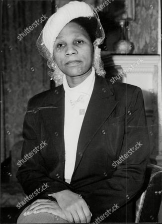 Stock Photo of Princess Alexandra Palmer Dinizula Daughter Of The Late King Solomons Of Swazliland And Zululand.