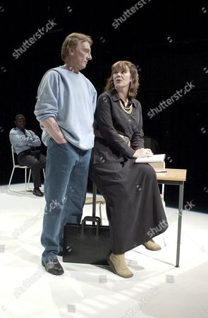 TOM GEORGESON AND JOSIE LAWRENCE