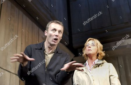 Editorial image of PLAY 'THE BENEFACTORS' AT THE ALBERY THEATRE, LONDON, BRITAIN - 21 JUN 2002