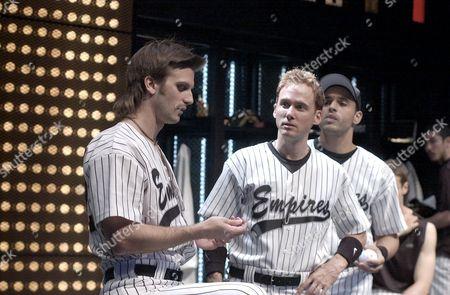 L-R: Frederick Weller, Neal Huff and Daniel Sunjata