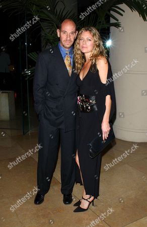 MIGUEL FERRER AND WIFE