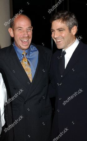 MIGUEL FERRER AND GEORGE CLOONEY
