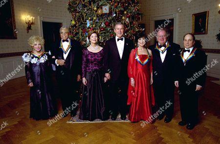 Elizabeth Taylor, actor James Earl Jones, actress Chita Rivera, conductor James Levine and singer Paul Simon.