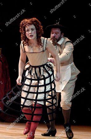 Amanda Drew and Geoffrey Freshwater