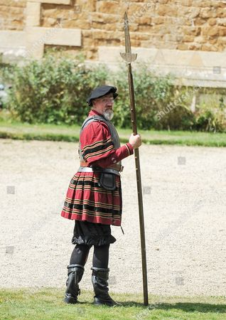 Editorial photo of 'Wolf Hall' on set filming, Gloucester, Britain - 29 Jul 2014