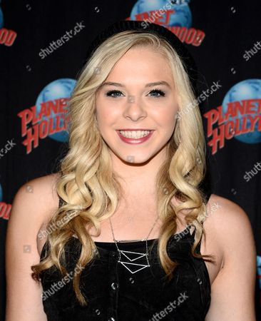Editorial picture of Lovey James Meet and Greet at Planet Hollywood, New York, America - 29 Jul 2014