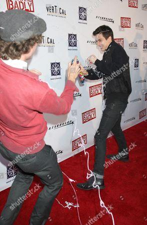 Editorial image of 'Behaving Badly' film premiere, Los Angeles, America - 29 Jul 2014