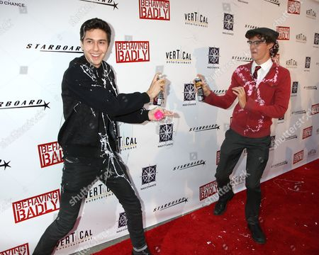 Nat Wolff and Nate Hartley