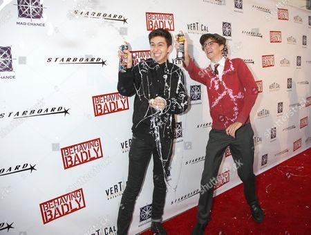 Editorial photo of 'Behaving Badly' film premiere, Los Angeles, America - 29 Jul 2014