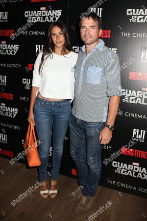 Stock Picture of Maria Alfonsin and Matthew Settle