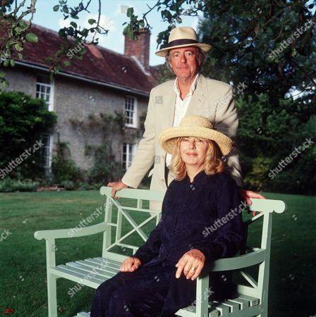 CHARLOTTE BINGHAM WITH HER HUSBAND TERENCE BRADY