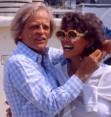 KLAUS KINSKI AND CLAUDIA CARDINALE AT THE CANNES FILM FESTIVAL, FRANCE - 1982