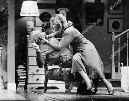 JOHN INMAN AND PATRICIA BRAKE IN PLAY 'MY FAT FRIEND'