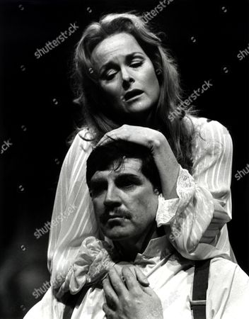 Alan Bates and Sheila Gish in 'A Patriot For Me' play at the Chichester Festival Theatre, Britain - 1983