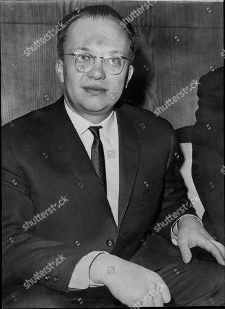 Sergei Khrushchev Son Of Nikita Khrushchev At London Airport.