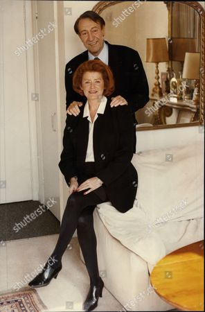 Actor Robert Stephens And His Girlfriend Actress Patricia Quinn.