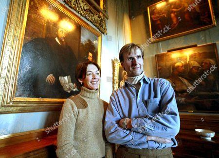 DUKE RALPH PERCY, THE 12TH DUKE AND DUCHESS OF NORTHUMBERLAND, JANE RICHARD